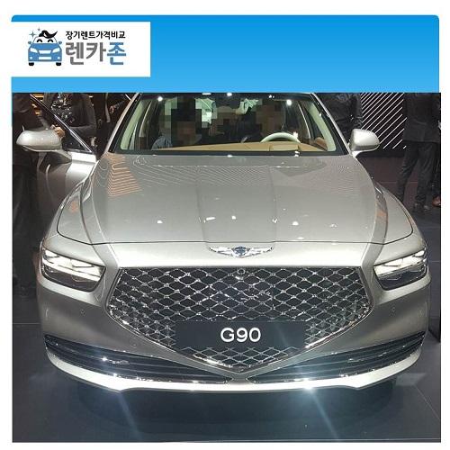 G90 장기렌터카 3.8 가솔린 장기렌트